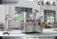Cina Rotary 3 in 1 Tea , Beer , Water Bottle Filling Machine For Industry Soft Drink Bottling perusahaan